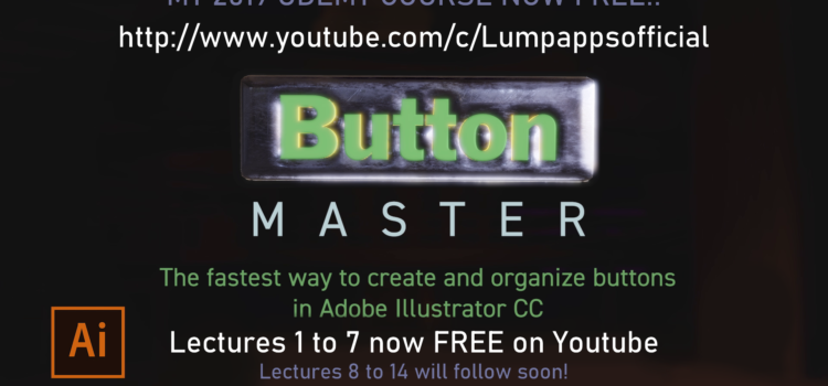 The first videos of the 1 Hour Button Master Course are now free on YouTube